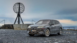 BMW iX im Wintertest am Nordkap