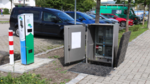 Platzsparender Netzanschluss für E-Ladesäulen