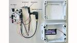 Der Aufbau des Gateways, das als Vermittler zwischen IQ Mesh und Sigfox arbeitet