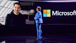 Eine enge Zusammenarbeit gibt es auch mit dem Partner Microsoft. AMD-CEO Su im Gespräch mit Panos Panay, Chief Product Officer von Microsoft.