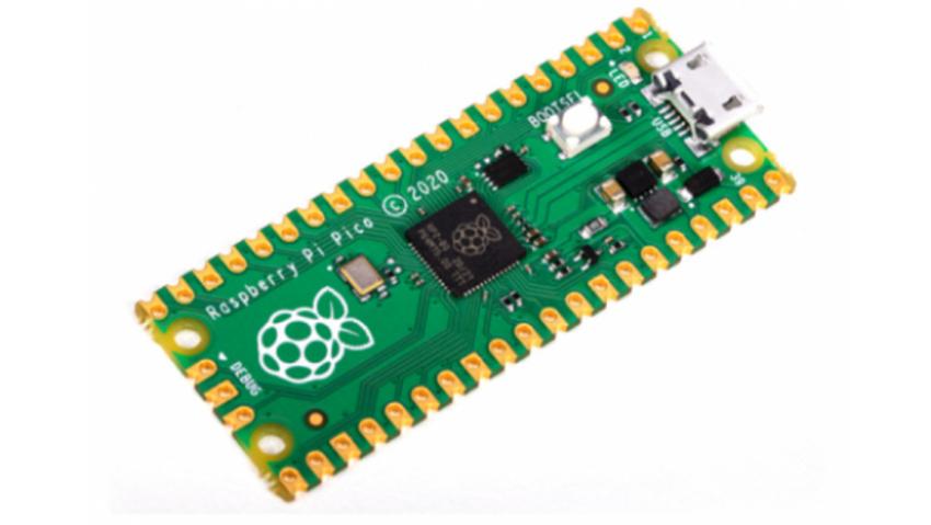 Raspberry Pi Pico con microcontrolador Pi