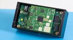 Baseband-Board für Radarsignalerzeugung und Signalverarbeitung mit Radar-Frontend.
