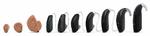 Übersicht Hörgeräte-Bauformen (v.l.n.r.): Ido, RIC und HdO