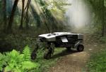 Der wandlungsfähige intelligente Bodenexkursionsroboter kann verschiedenartige Nutzlasten in unwegsamem Gelände transportieren....