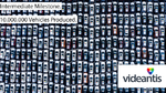 10 million production vehicles with »videantis inside«