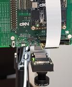 Basler-Kamera auf i.MX 8M Mini Evaluationsboard.