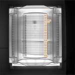 Das Bildverarbeitungssystem korrigiert schief stehende Transportboxen und überprüft in einem nächsten Schritt auf fehlende und schief einsortierte Wafer.