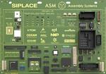 Demoboard mit Bauteilen aus den Bereichen Automotive, Industrie, LED, Smartphone.