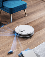 Deebot N8 Pro+, Ecovacs Robotics, Saug-Wischroboter, 3D Erkennung