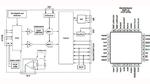 Der IC für EKG-Eingangsstufen, ADS1292 von Texas Instruments, verfügt über zwei bipolare Eingänge für den Elektrodenanschluss und kommuniziert mit einem Host über eine SPI-Schnittstelle