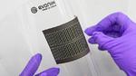 Die flexiblen gedruckten Batterien auf Basis der TAeTTOOz-Materialien von Evonik.