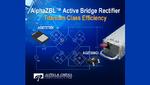 Aktiver Brückengleichrichter für höchste Effizienz