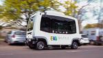 Praxistest für autonome Busse im Verkehr