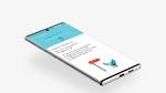 Anwendung von Kalmeda auf einem Smartphone