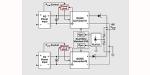 Vereinfachte Darstellung einer Architektur mit eingangsseitiger Leistungsaufteilung und Leistungsbegrenzung