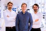 v.l.n.r.: Markus Hütter (CEO), Michael Santek (CTO) und Gregor Burger (CSO)