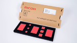 Das Evaluation-Kit mit den drei Panel-Größen für die Versorgung von Sensorknoten von Ricoh.