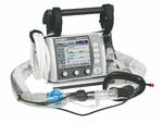Das Notfall- und Transportbeatmungsgerät MEDUMAT Standard verfügt über drei einfache Bedienknöpfe.
