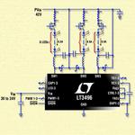 Dreikanal-LED-Treiber: 24 LEDs à 500 mA