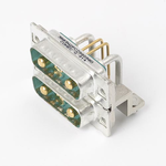 Platzsparender MicroTCA-Steckverbinder