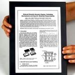 Hochauflösendes e-Paper-Display