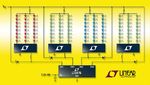 Vierfach-LED-Treiber von Linear Technology