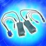 Handlicher Single-Port-KVM-zu-IP-Konverter