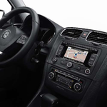 Radio-Navigation mit Touchscreen