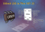 Catalyst Semiconductor: 500-mA-LDO im SOT 23