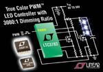 LED-Treiber mit PWM-Bereich 3000:1