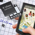 Infineon präsentiert kleinstes GPS-Modul der Welt