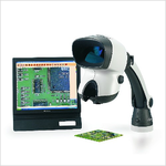 Stereomikroskop mit integrierter Digitalkamera