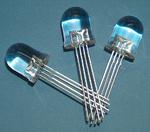 RGB-LED im 10-mm-Gehäuse