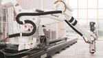 Ein XL-3D-Printing.Roboter von Aectual nutzt 3D-Druck für die Herstellung von Böden