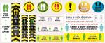 Oki bietet kostenlose Medien, die Unternehmen bei Social Distancing-Maßnahmen unterstützen