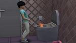 Wenn der Sim plötzlich Feuer brunzt