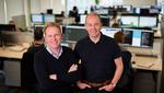 Graphcore-CEO Nigel Toon (links) und CTO Simon Knowles