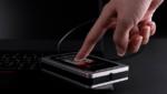 Hardwareverschlüsselte USB-Festplatten mit farbigem Touchscreen