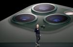 Apple-Chef Tim Cook bei der Präsentation der neuen iPhone-Modelle