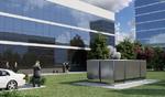Sieht fast aus wie ein abstraktes Kunstwerk: der Energy-Server ES 5000 von Bloomberg Energy.