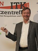 Glücklicher Gewinner: Für Bernhard Oertel von Sophos ist es bereits die vierte Auszeichnung