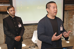 Tim Kamrath, Field Account Executive (Datto) und Daisuke Wattanabe, Sales Engineer (Datto)