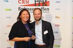Miriam Franke durfte stolz den nächsten Award für Sandisk entgegennehmen