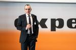 Stefan Müller, Vorstandsvorsitzender der Expert SE, auf der Frühjahrstagung 2019