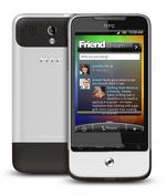 Android-Handys, wie das HTC Legend, sind im Anrollen.