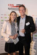 Thomas Peuthert freut sich über den Award für Aruba HPE