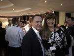 Richard Jackson, VP der EMEA-Partnerorganisation, und Daniela Marggraf, GRID Partner Channel Business Manager