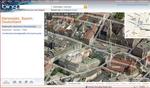 Der Anwender kann mit Bing Maps Lokalitäten auch aus der Vogelperspektive betrachten.
