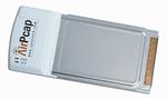 Der Cardbus-Adapter AirPcap N erfasstDaten, die über die Vorabversion vonIEEE-802.11n-WLANs laufen.