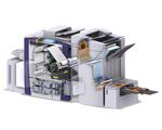 Ein Blick ins Innere des Sytems: Ein Vakuum-System verhindert, dass sich Papierstaub auf die Düsen legt und sie verstopft.
